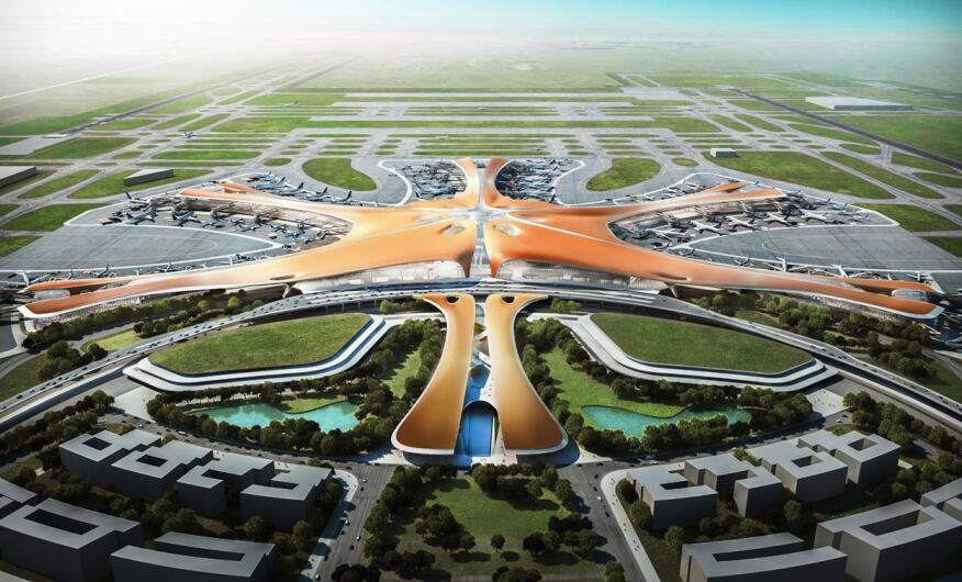architecture design concept. Perfect Concept Beijing New International Airport Daxing Beijing China By Zaha Hadid  Architects With Architecture Design Concept