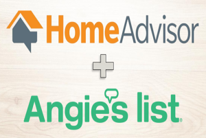 Combined logos of HomeAdvisor and Angie's List