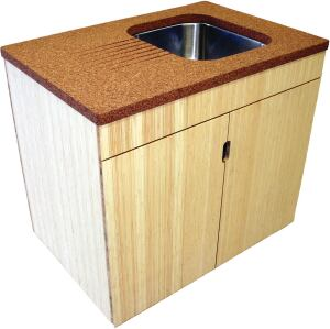 Suberra Is A Composite Recycled Cork Slab That Dense Enough To Be Used As Countertop Or Work Surface In Light Duty Areas Its Maker Uses 100 Percent
