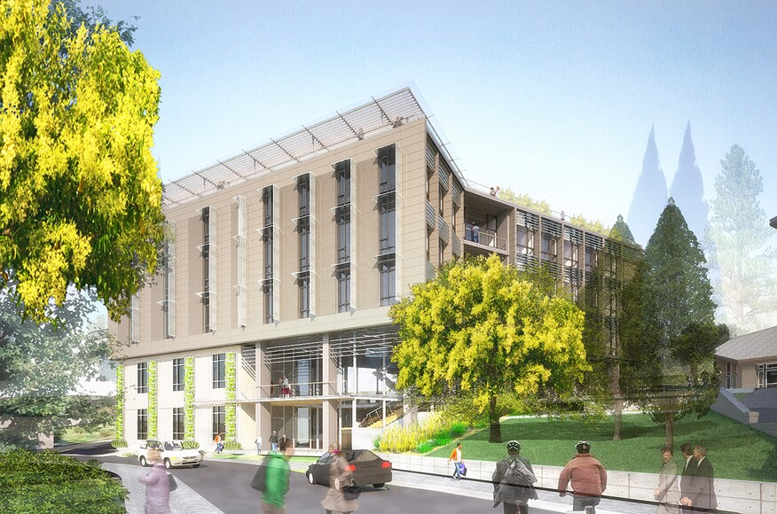 Haas School Of Business New Academic Building Architect Magazine Perkins Will Berkeley