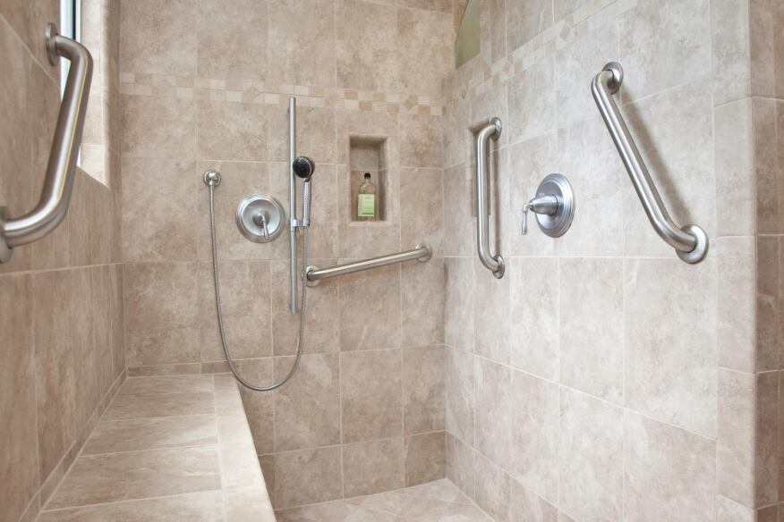 All Access Pass Showers Custom Home Magazine Bath