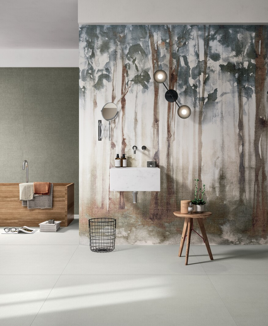 Top tile trends for 2017 builder magazine tile finishes and creating design inspired by nature gives a serene look to any space a number of manufacturers introduced tiles that mimic natural elements such as the sky dailygadgetfo Choice Image