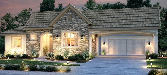 A Greystone-Ashton Park model home.