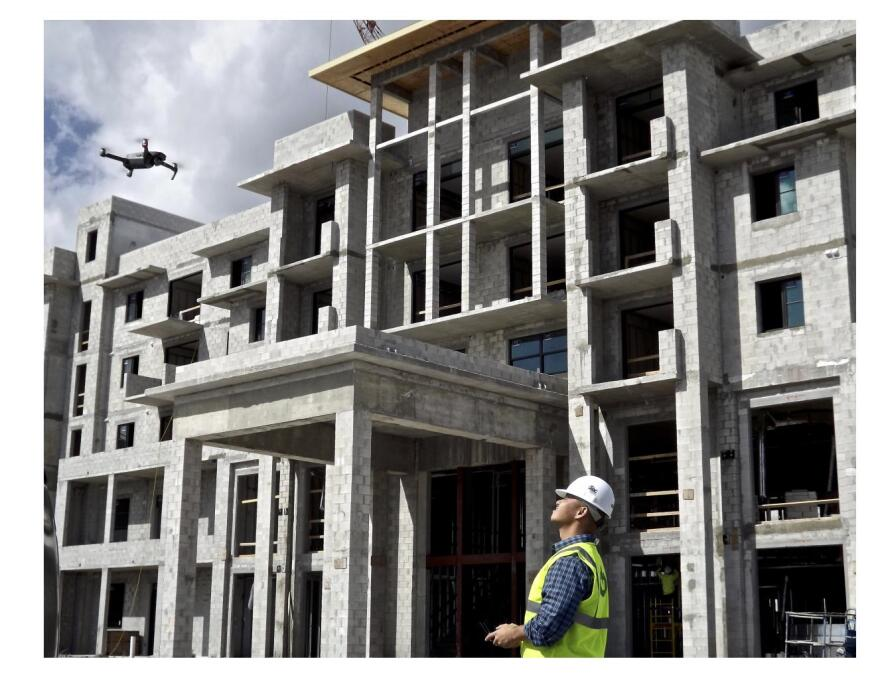 A new use for drones on site safety builder magazine for Building a house in florida