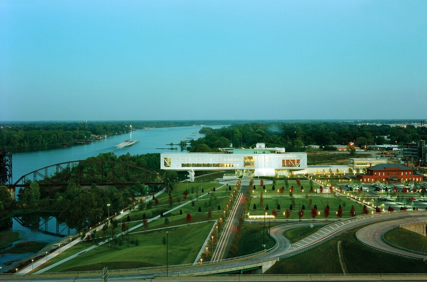 William J Clinton Presidential Center Architect Magazine Ennead