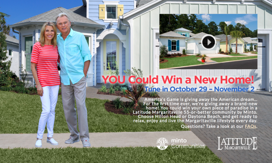 Holdings To Give Away A New Home Valued At 350 000 Laude Margaritaville Active Community In The Sweet Giveaway Airing