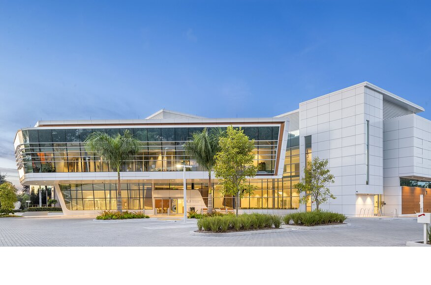 Bascom Palmer Eye Institute At Naples Architect Magazine Gresham Smith Naples Fl