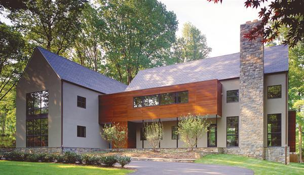 Bethesda md residence residential architect david - The edgemoor residence by david jameson architect ...