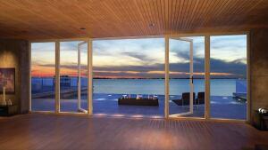 NanaWall Systems Folding Glass Doors   Custom Home Magazine