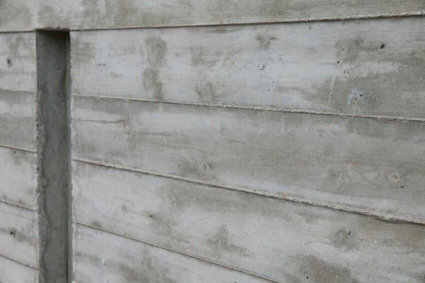 Board Formed Concrete Step By Step Custom Home Magazine
