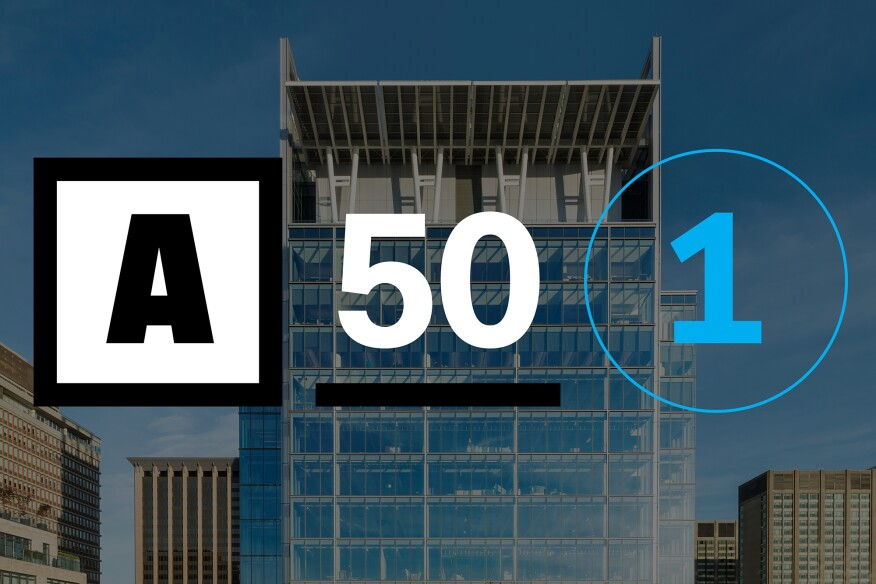 2017 Architect 50 Top 50 Firms In Business Architect