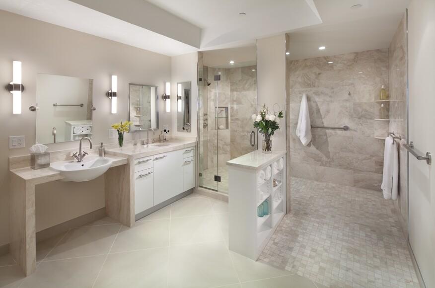 An Accessible Design Bath On A Very Short Timeline Architect - Bathroom remodel timeline