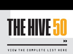 The Hive 50 List