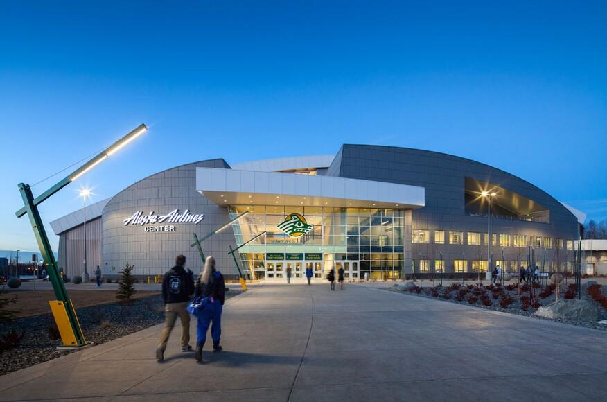 Alaska airlines center mccool carlson green architects