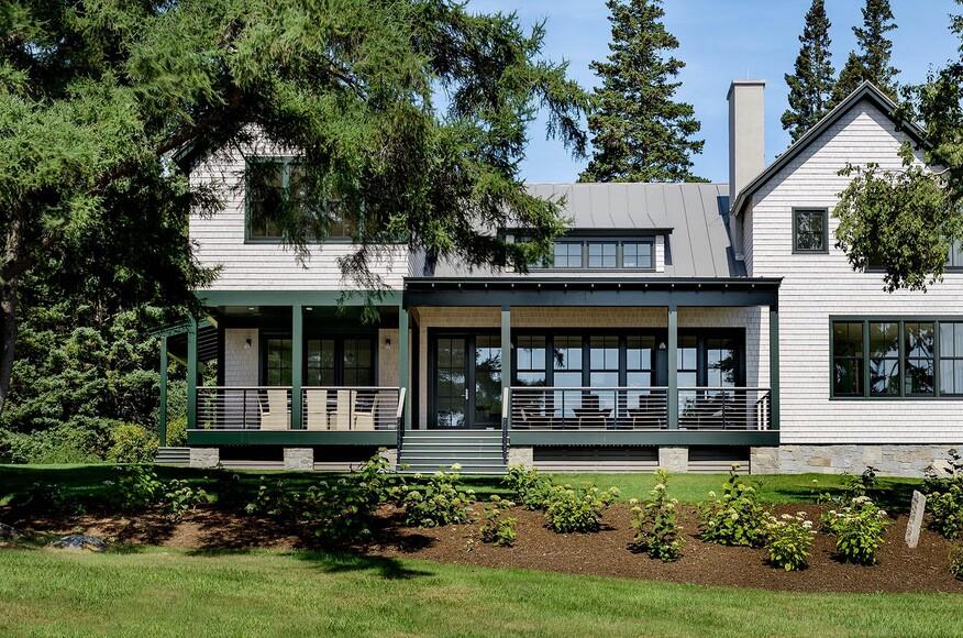 Maine coast residence residential architect hamilton for Maine residential architects