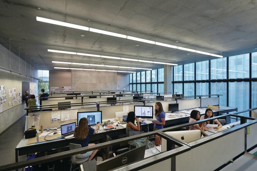 Modern Classroom Lighting ~ Learning light the steven l anderson design center