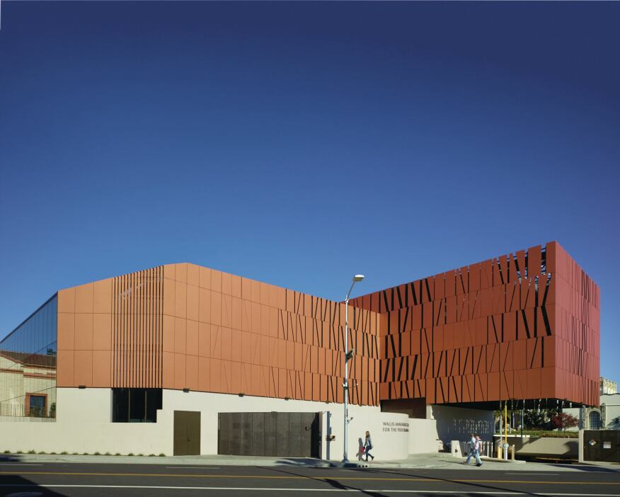 Wallis Annenberg Center for the Performing Arts | Architect Magazine ...