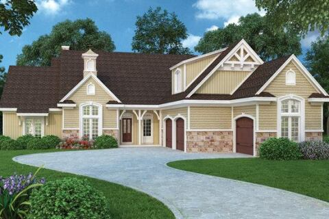 Obtain One Story Home Plans  Background