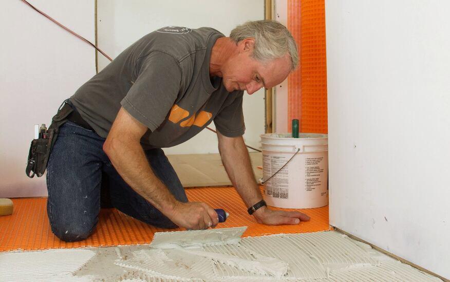 Prepping A Bathroom Floor For Tile Jlc Online Tile Bath