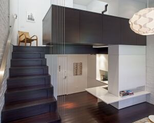 manhattan micro loft new york custom home magazine award