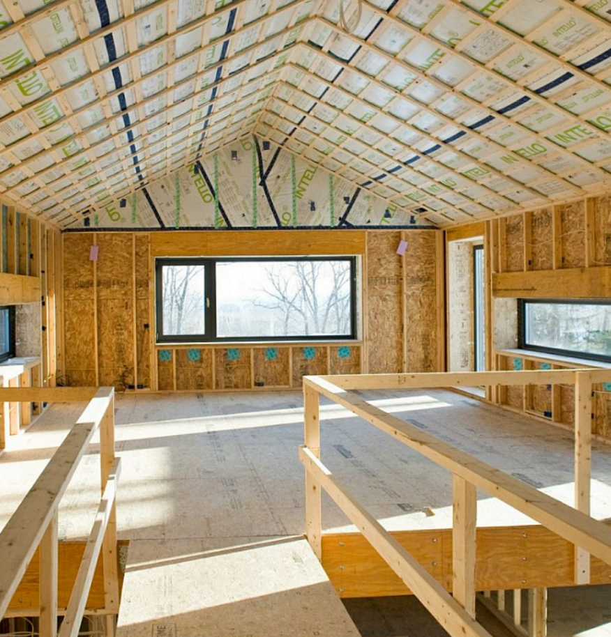 The 39 smart wall 39 offers sustainable healthy building for Home insulation products