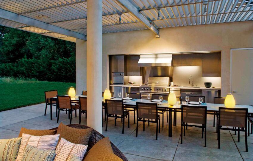 Indoor-Outdoor Kitchens | Custom Home Magazine