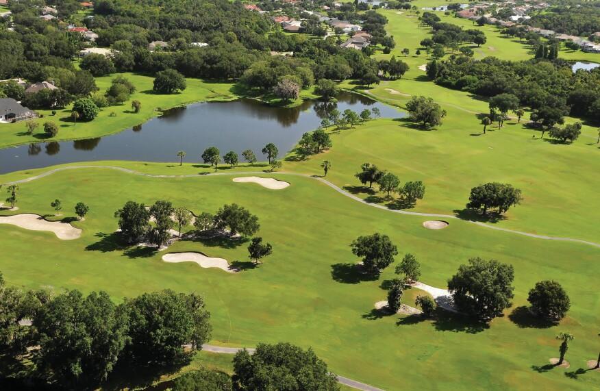 River Wilderness Golf and Country Club near Bradenton, Fla.