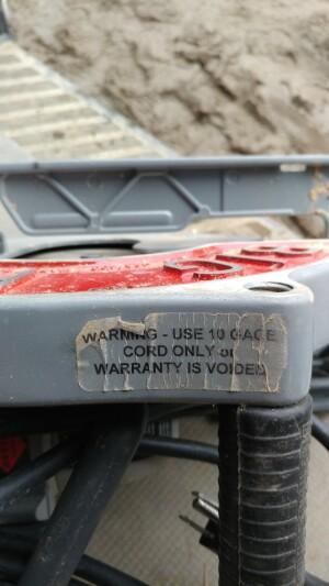 Big Foot Tools BF-UG 10-1//4-Inch Wormdrive Magnesium Circular Saw w// Skil Motor