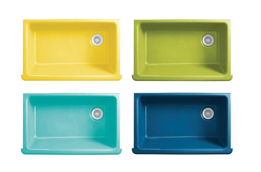Designer And Color Guru Jonathan Adler Has Partnered With Kohler To Introduce Four Special Edition Colors For Enameled Cast Iron Sinks Kitchens