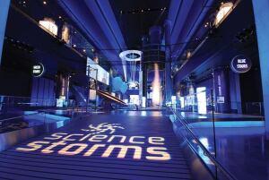 commendable achievement exhibit lighting science storms museum