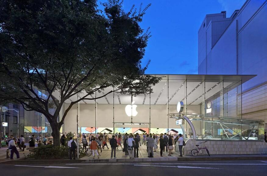 apple store omotesando architect magazine bohlin cywinski