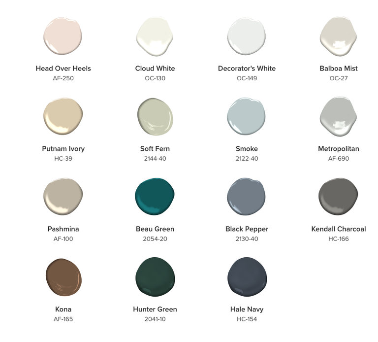 The Trendiest Kitchen Colors For 2019 Are Definitely Not: Benjamin Moore's 2019 Color Of The Year Is 'Metropolitan