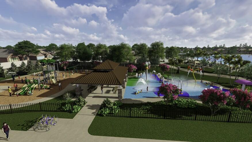 Master-Plan Developers Make a Splash with New Lagoon Amenities