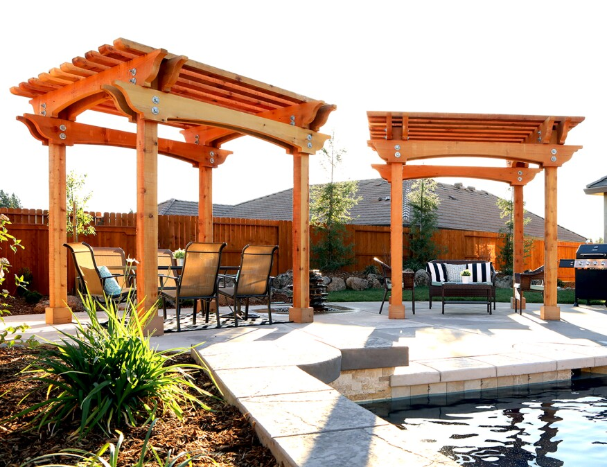 Chris Sentovich. Building ... - Northern California Homebuilder Chooses Sustainable Redwood Pergolas