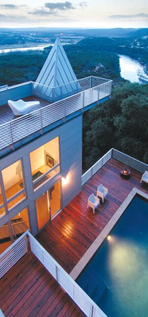Residential Roof Deck Review Custom Home Magazine