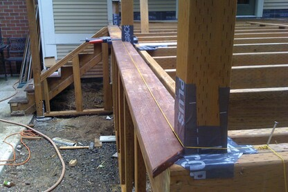 Railing Connections and 500-Pound Loads