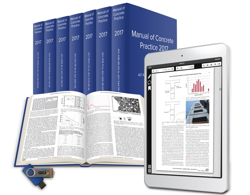 Aci releases 2017 edition of manual of concrete practice concrete the american concrete institute aci has released the printed and digital editions of its 2017 manual of concrete practice fandeluxe Choice Image