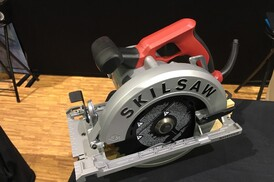 Tool test inline circular saws tools of the trade table saws skilsaw blade left sidewinder greentooth Images