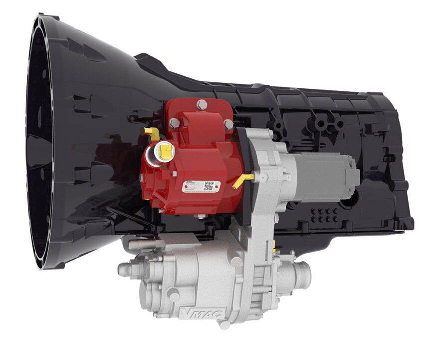 Direct Transmission Mounted Pto Driven Air Compressor