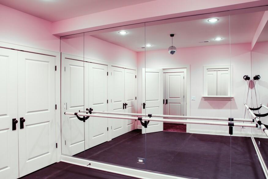 Dance Studio Design Ideas Home Art Dma Homes: Développé-ing The Design Of A In-Home Dance Studio