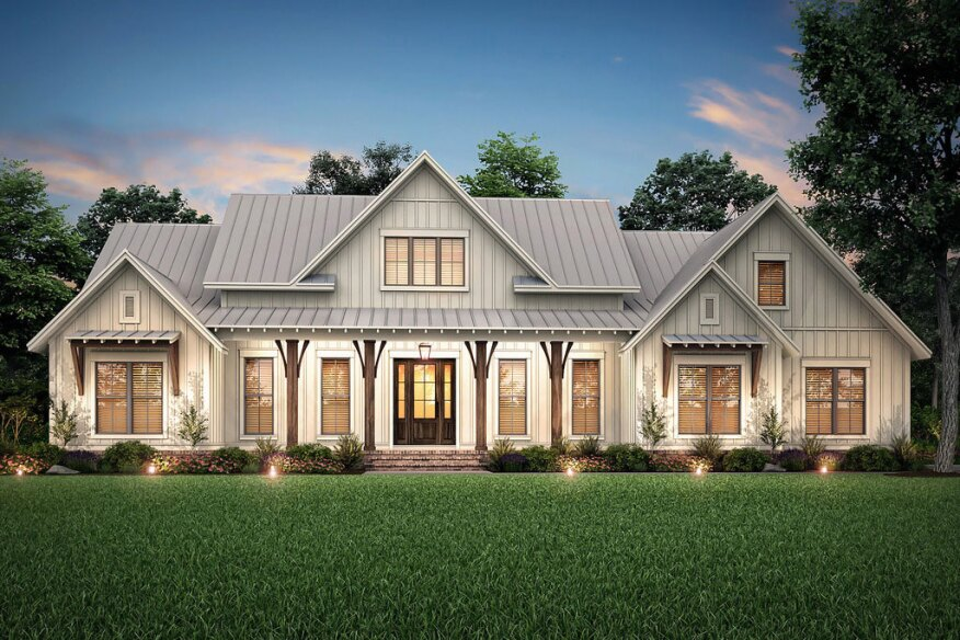 Farmhouse Designs Under 2 600 Sq Ft