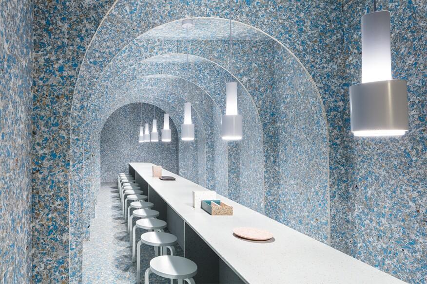 zero waste bistro at wanteddesign manhattan architect magazine