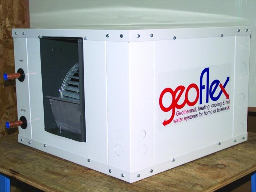Geothermal heating and cooling systems are a viable for Alternative heating systems for homes