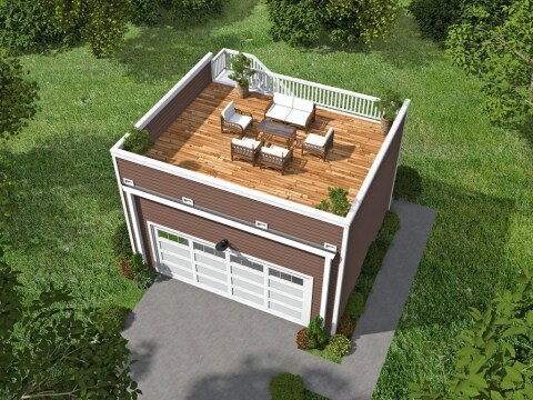 House Plans With Rooftop Decks Builder Magazine