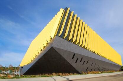 Architect project gallery architect magazine - Northeastern university swimming pool ...