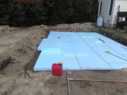 Pool Installation What To Put Under Above Ground Pool On Grass