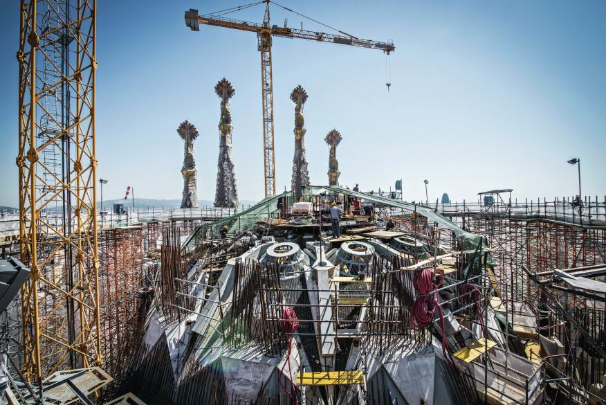 A Completion Date For Sagrada Familia Helped By Technology