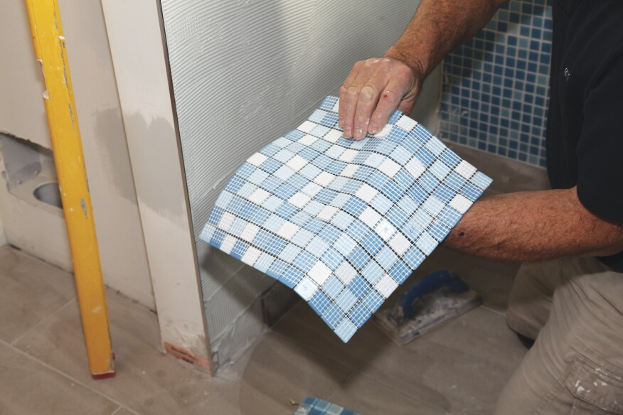 Installing Glass Tile With Mesh Backing Jlc Online