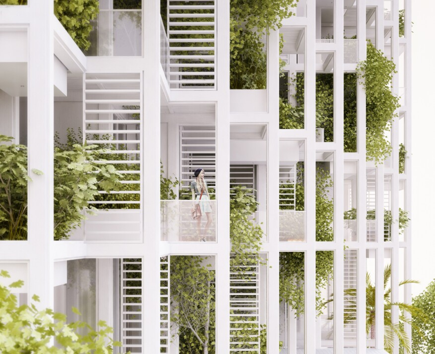 Modular High-Rise Allows Residents to Customize Prefab Units ...