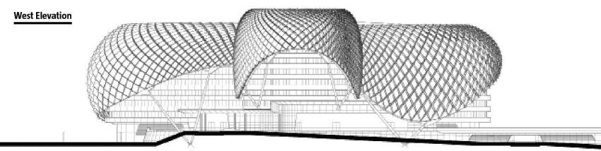 Yas Hotel Grid Shell Architect Magazine